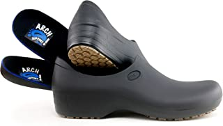Comfortable Work Shoes for Women - Arch Support Version - Waterproof Slip Resistant - StickyPRO Shoes