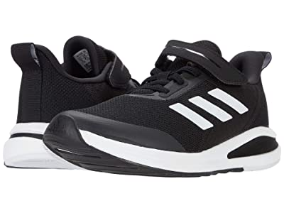 adidas Kids FortaRun EL (Little Kid/Big Kid) (Core Black/Core Black/Footwear White) Boys Shoes