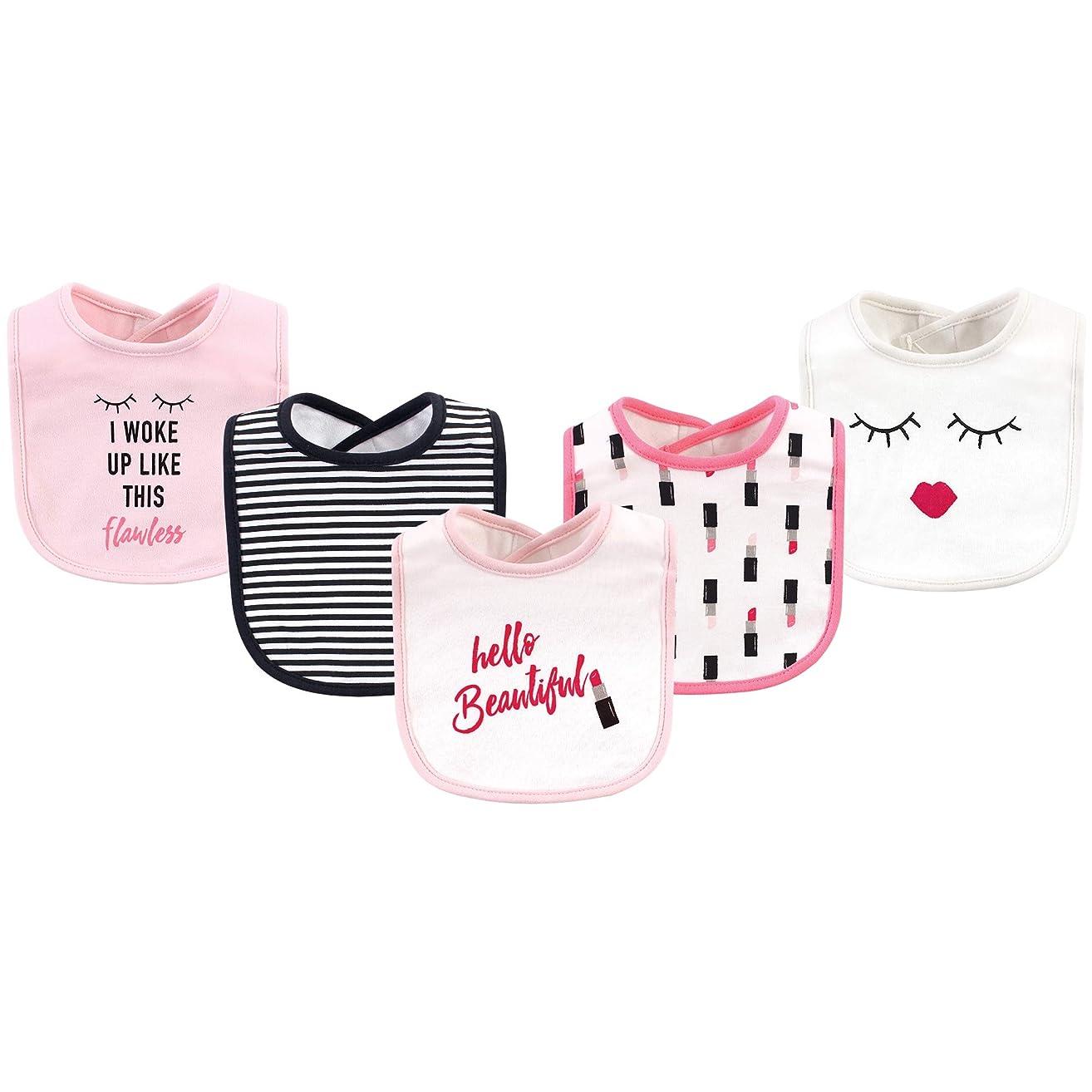 Hudson Baby Baby Cotton Drooler Bibs