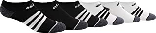 adidas Kids' - Boys/Girls 3-Stripe No Show Socks (6-Pair)
