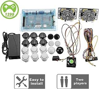 Yang 2 joysticks DIY Kit Paquete casa Familia Caja de Pandora 5S máquina de Arcade 1299 Juegos Multi-Juego de Arcade de Bricolaje Kit Arcade Stick, VGA HDMI Juego Completo de 2 Jugadores