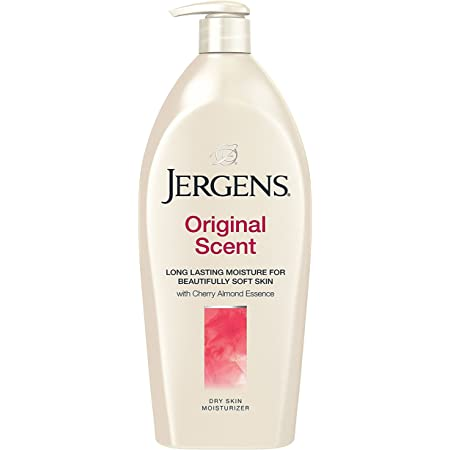 Jergens Lotion - Original Cherry Almond, 600 ml