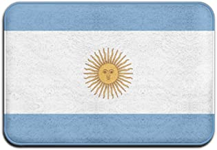 Argentina Flag Sun Doormat Anti-slip House Garden Gate Carpet Door Mat Floor Pads
