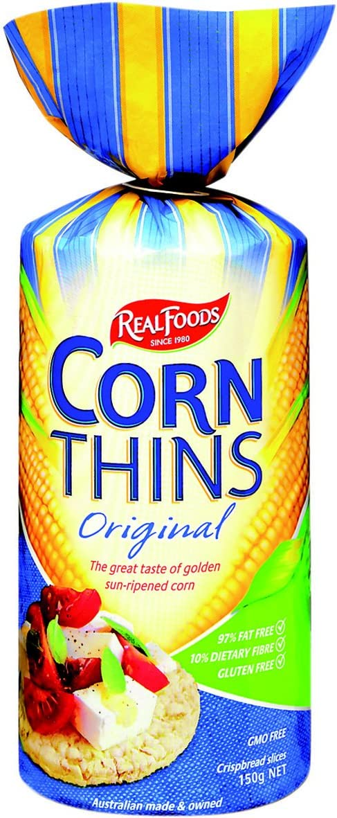 Real Foods Corn Thin ORGNL ORG 6 In stock Translated 5.3 of Pack OZ