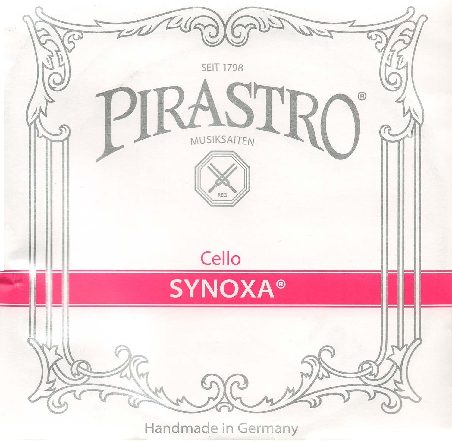 Pirastro Synoxa Max 79% OFF 4 Cello Challenge the lowest price of Japan ☆ String Medium Gauge - Set