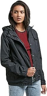 Women's Junior's Enemy Stone Hooded Windbreaker Jacket