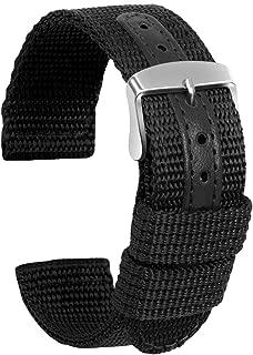 Ullchro Nylon Watch Strap Replacement Canvas Military Army Men Women - 18, 20, 22, 24mm
