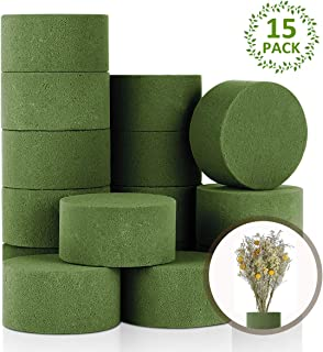 Arts Floral Foam Half Balls for Flowers 4 x 2.1 in, Green, 4 Pack DIY Crafts