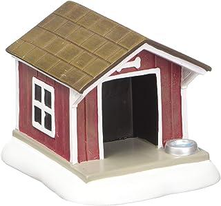 Figura Decorativa para casa de Perro con diseño de Pueblo