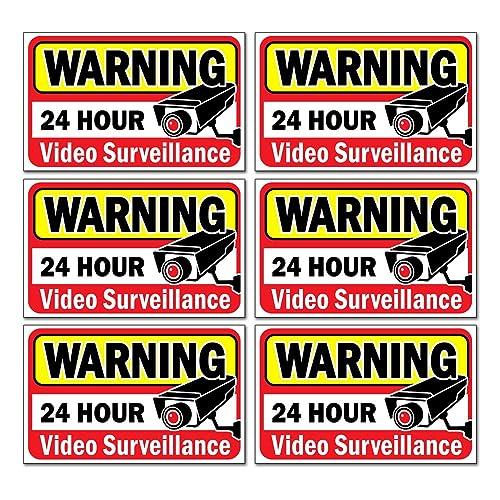 SECURITY CAMERAS Stickers Vinyl Window Decal Door Wall Office Business