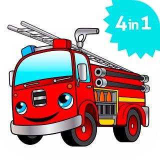 cool fire truck games