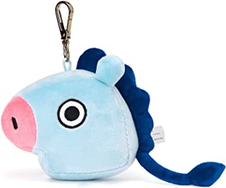 LINE FRIENDS BT21 Official Merchandise MANG Character Doll Face Keychain Ring Cute Handbag Accessories