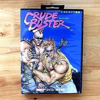 TopFor Crude Buster 16 Bit Sega Md Game Card With Retail Box For Sega Mega Drive For Genesis US Shell