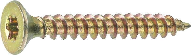 Connex Universele schroeven 4,0 x 30 mm - 1 kg grootverpakking - verzonken kop - TX Torx-aandrijving - volledige schroefdr...