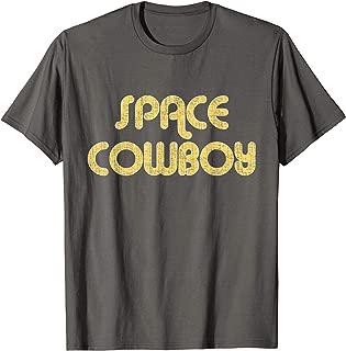 SPACE COWBOY Vintage Large Print T-Shirt