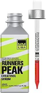 MMUSA Runners Peak Creatine Serum Running Boost | Run Faster & Longer | Pre-Run Energy Cycling & Running Supplement | Boosts Performance | Stable Creatinol-O-Phosphate