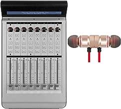 Mackie MCU XT Pro Control Surface Extender Includes Free Wireless Earbuds - Stereo Bluetooth In-ear Earphones