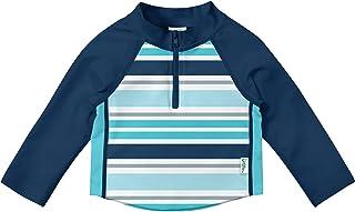 i play. by green sprouts Unisex Baby Long Sleeve Zip Rashguard Shirt Rash Guard Shirt