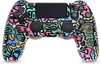 $35 » Sponsored Ad - Wireless PS4 Controller, Game Controller for Playstation 4 with Double Vibration and Charging Cable (Colorful)