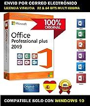 Office 2019 Professional Plus   Clave de producto y enlace de descarga   Enviado por EMAIL   Compatible solo con Windows 10
