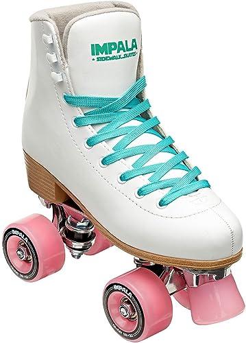 high quality Impala Sidewalk wholesale Skates Rollerskates Quad White popular US 7 sale