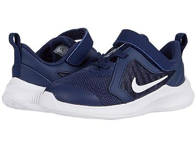Nike Kids Downshifter 10 (Infant/Toddler) (Midnight Navy/White/Black) Kid