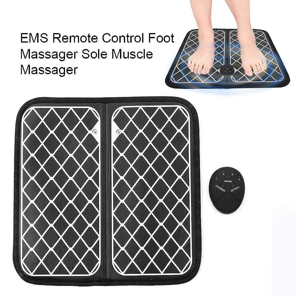 安価な方法論ムスタチオEMSフットマッサージャーUSB充電式ポータブルマッサージマットは、電磁式足筋刺激用の6つのモードのフットマッサージャーを備えており、足の痛みを和らげ、ストレスを和らげ、血行を促進することが、友人や家族への最高の贈り物です
