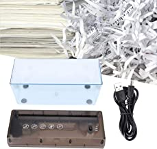 $39 » Shredder, Desktop Office Shredder, Cutting Machine, USB Electric Non‑Slip Silicone Pad for Small Office Home