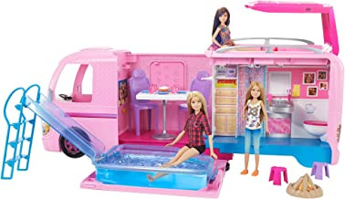 barbie jeep with two dolls