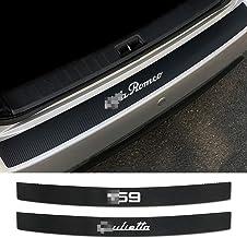 GIVELUCKY Pegatinas Protectoras de Fibra de Carbono para el Parachoques Trasero del Coche, para Alfa Romeo 159 Giulietta Giulia 147156 Mito Stelvio GT Sportiva Accesorios