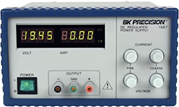 B&K Precision 1667 Bench Switching DC Power Supply Series, 1-60V, 3.3A