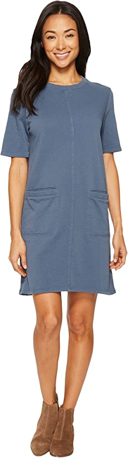 Lightweight French Terry Weathered Wash Dress