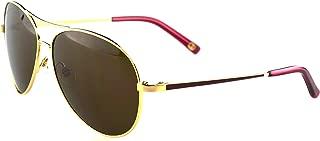 Tommy Bahama TB7038 Wayfarer Occasion Sunglasses 780 Rose Gold Frame Brown Lenses