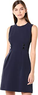 Anne Klein Women's Two Button Sleeveless