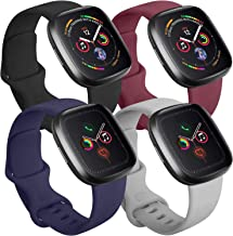 Tobfit 4 Pack Compatible with Apple Watch Band 38mm 42mm...
