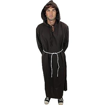 DRESS ME UP - L022/56 Disfraz hombre hábito monje sacerdote cura ...