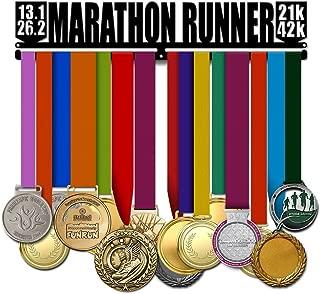 Believe&Train Marathon Runner - Running Medal Hanger