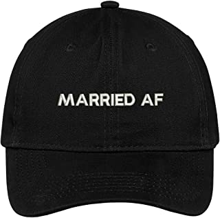 Married AF Embroidered Soft Crown 100% Brushed Cotton Cap