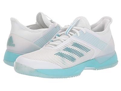 adidas Adizero Ubersonic 3 X Parley (Blue Spirit/Footwear White/Footwear White) Women