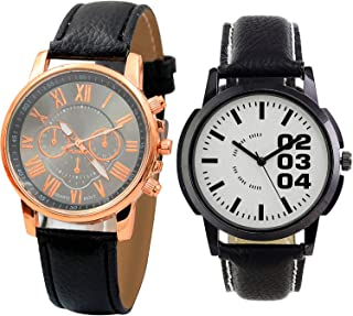 NIKOLA Analogue Black and White Color Dial Boys Watch - B192-B96 (Pack of 2)