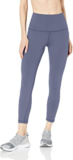 Amazon Essentials Women's Studio Sculpt High-Rise 7/8 Length Yoga Legging