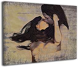 lesbian canvas art