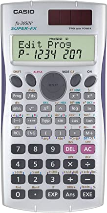 $39 Get Casio Super Fx-3650p Programmable Scientific Calculator Fx3650p 2 Line Display Multi Replay Function