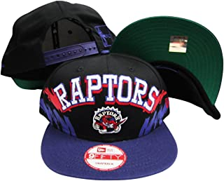 Toronto Raptors Black/Purple Two Tone Plastic Snapback Adjustable Plastic Snap Back Hat/Cap