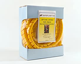 Pre-Cut Spiral Wrap Hose Protector, 3/4