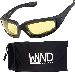 WYND Blocker Motorcycle & Biking Wind Resistant Sports Wrap Sunglasses