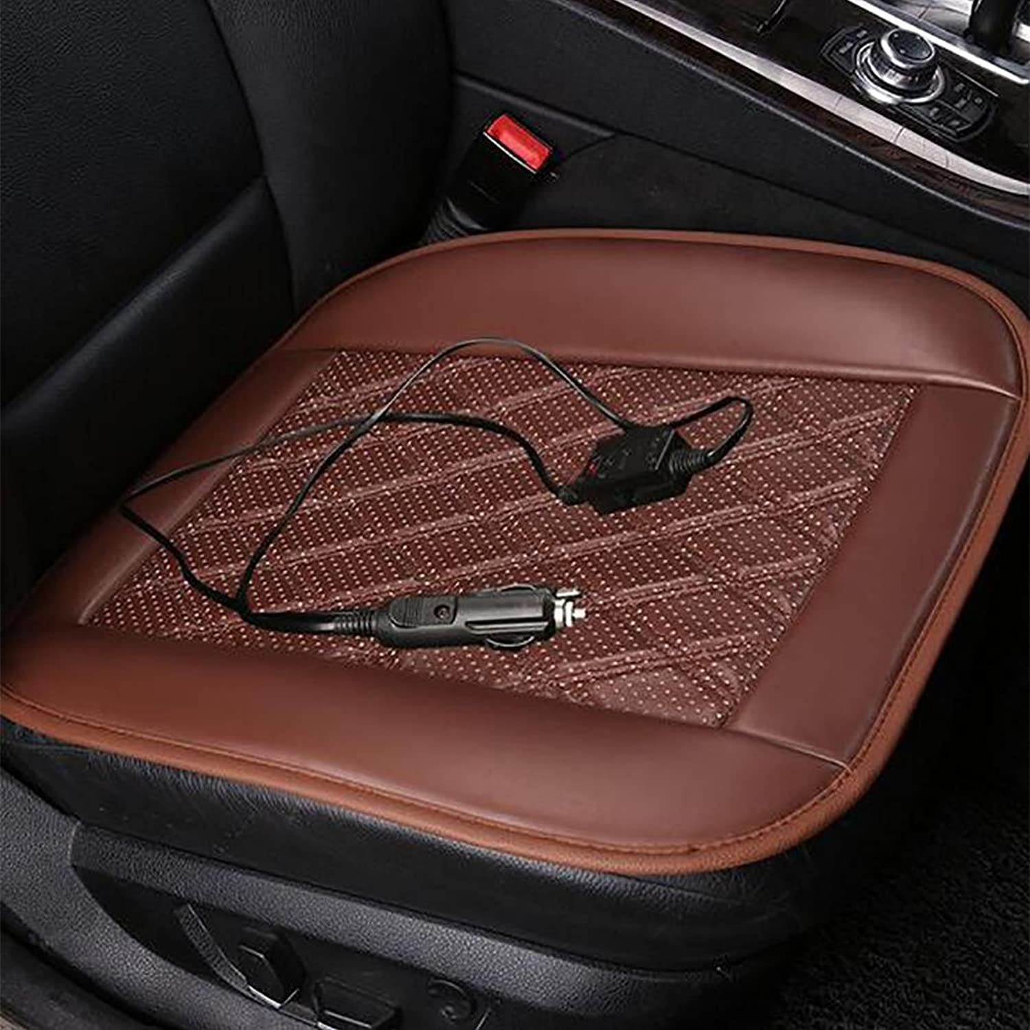 LPYWinter Hot Heater Heated Heating Warmer Pad Hot Cover Car Front Seat Cushion Temperature Controller