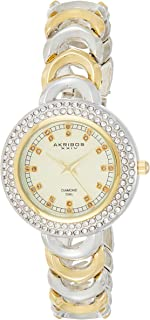 Akribos Xxiv Dress Watch Analog Display Quartz For Women