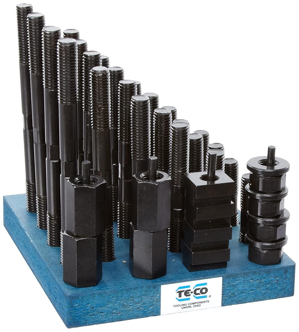 Te-Co 20608 38 Piece T-Nut and Stud Kit, 5/8