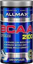 BCAA 2100 mg Branched Chain Amino Acids 2:1:1 L-Leucine 1050 mg L-Valine 525 mg L-Isoleucine 525 mg 180 Capsules